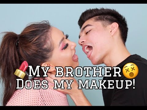 My Brother Does My Makeup! | Dragun
