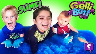 GELLI BAFF with Toy Flarp! Surprise Toy Review with HobbyKids