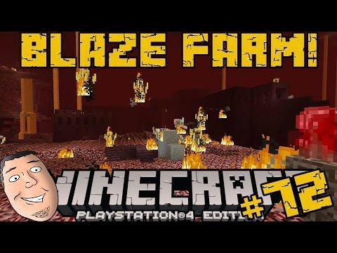 Minecraft PS4 Survival #72 | The Blaze Farm!