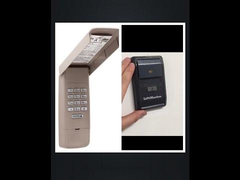 How to program garage door keypad: Lift master