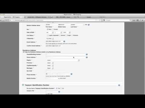 How to register your business using PBR!