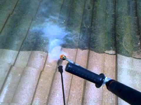 A Tile Roof Cleaning