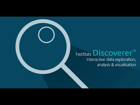 FastStats Discoverer - make sense of the data chaos