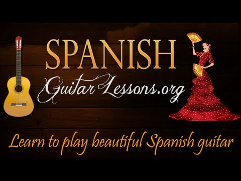 Spanish Guitar Lessons - The Easy Way To Learn Flamenco Style Guitar