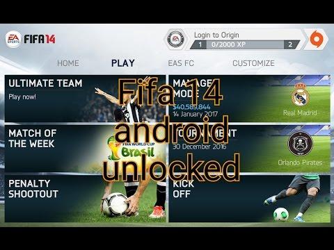 Install Fifa 14 offline android unlocked (offline)