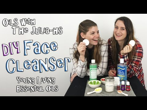 DIY Face Cleanser with Young Living Essential Oils