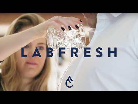 Red Wine Test on Labfresh White Shirt