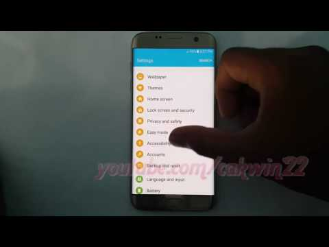 Samsung Galaxy S7 Edge : How to Change Google text to speech language (Android Marshmallow)