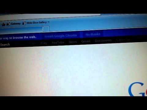 How to fix sideways computer screen