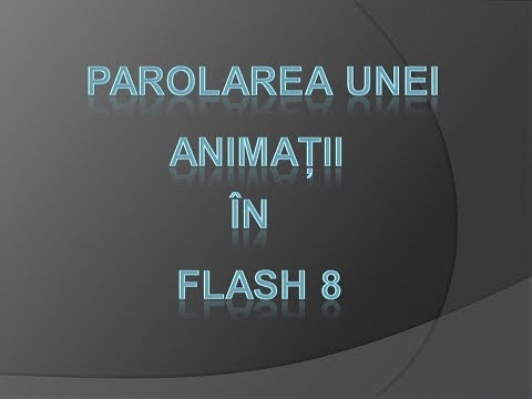 password in flash 8