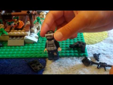 How to make a Lego custom SWAT guy