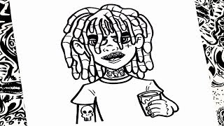 How To Draw Lil Pump on Tom And Jerry Coloring Pages For Kids