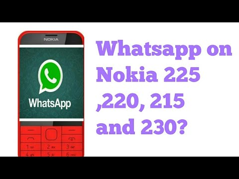 WhatsApp support on Nokia 225, 220 and 230😱😱😱😱😱|Vedant sharma