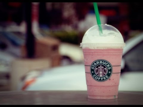 How to Make a Starbucks Strawberries & Crème Frappuccino