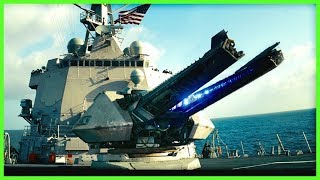 U.S. NAVY Electromagnetc RAILGUN Mach 7 Fire Tests | 2008-2017