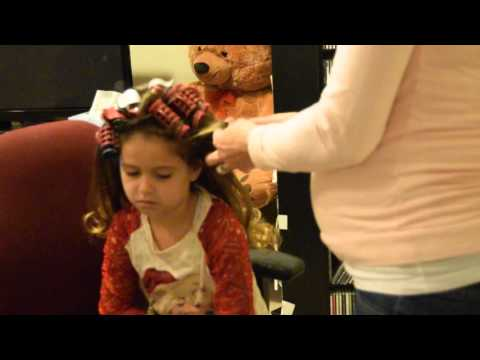 Pageant Hair How To: Barbie Flip