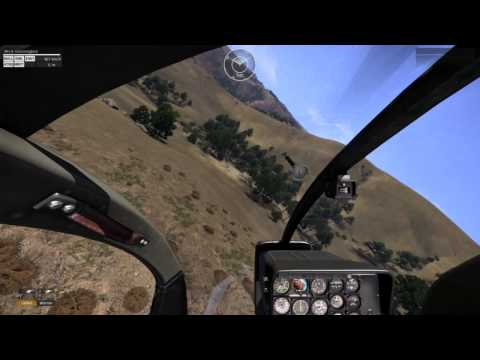 Arma 3 -  Low Altitude High Velocity Helicopter Flying