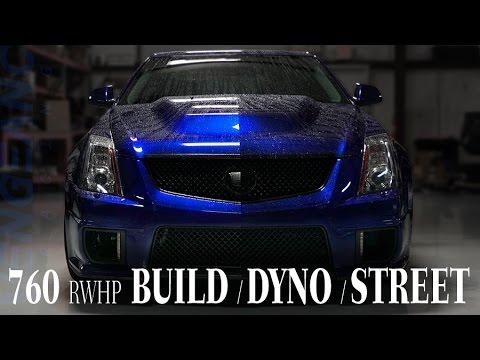 760+RWHP CTSV (Build, Dyno, Street Action) Vengeance Racing