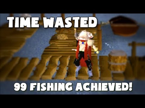 Runescape 2007: Time to get 99 Fishing Baby!