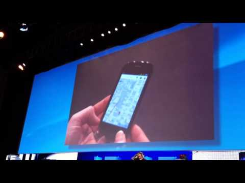 Google Maps 3D Demo on Nexus Android at LeWeb10 Paris