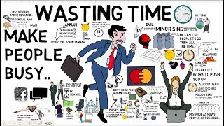 TRAPS OF SATAN: WASTING TIME - Tim Humble Animated