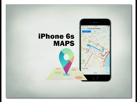 iPhone 6s Maps