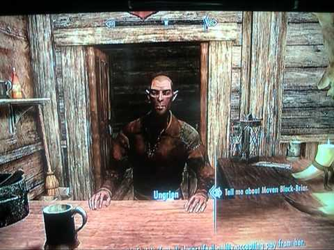 How to level up speech-craft really easy on skyrim.
