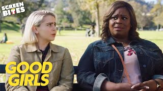 Ruby & Annie Go Behind Beth's Back | Good Girls | SceneScreen