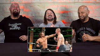 The Club watch AJ Styles beat up John Cena: WWE Playback