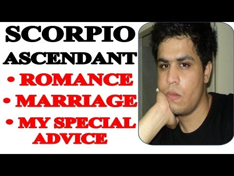 Scorpio Rising/Ascendant in Astrology - Love, Marriage and Sex (Secrets Unlocked)