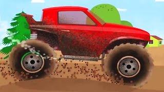 Doktor Mac Wheelie - Der schmutzige SUV und die Autowäsche | Cartoon für Kinder