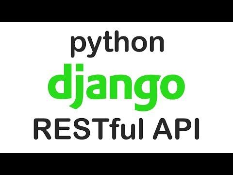Simple RESTful API with Django