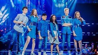 Download Tim, Noralie, Robin, Oona, Katarina & Abu - 'Year 3000'   Finale   The Voice Kids   VTM Video