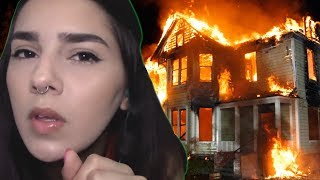 CRAZY BABYSITTER BURNED THE HOUSE DOWN...