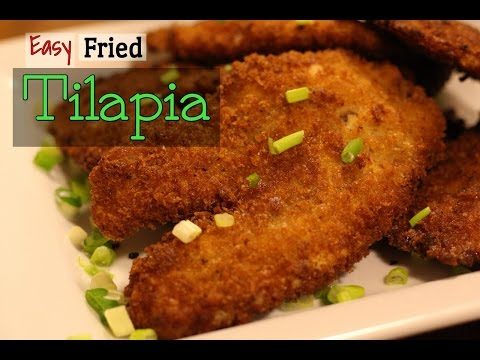 Easy Fried Tilapia | Hello Sweet Biscuit