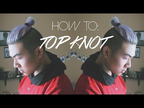 Men's Hair Tutorial: TOP KNOT // MAN BUN | ANHOPPA