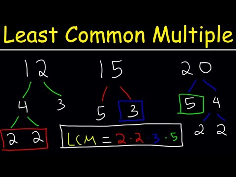 How To Find The LCM of 3 Numbers - Plenty of Examples!