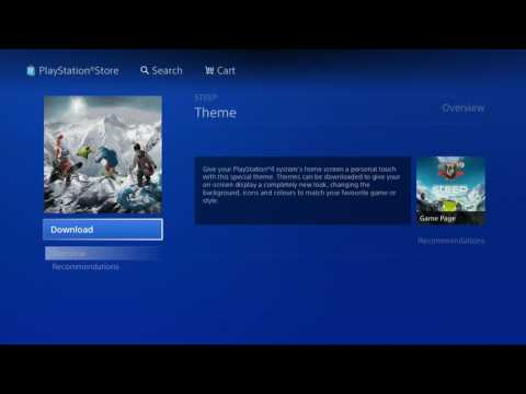 How To Change Theme On PS4