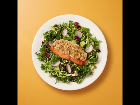 The Cheesecake Factory: Almond-Crusted Salmon Salad