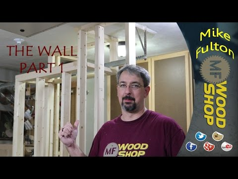 Building a divider wall (framing)