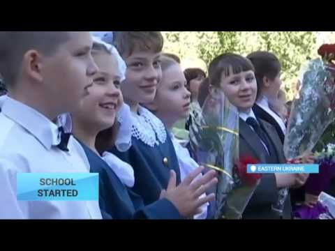 Ukraine Students Start New Term: How many children go to school in occupied Donbas?