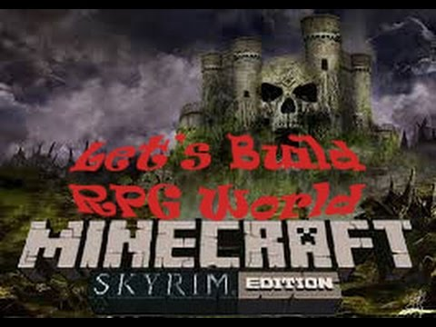 Minecraft Xbox One Lets Build a RPG world Ep. 2