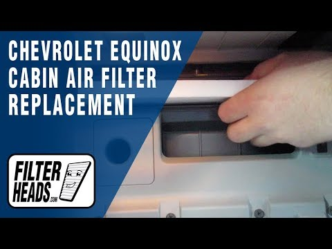How to Replace Cabin Air Filter 2016 Chevrolet Equinox