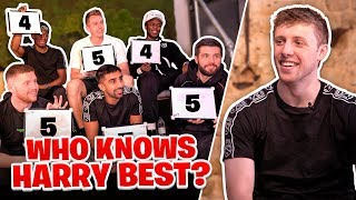 Which of the Sidemen knows Harry the best?
