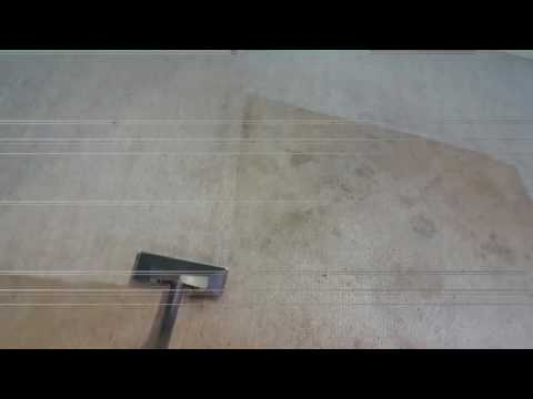 Cleaning heavily soiled berber carpets by Courtney with Truman Steemers