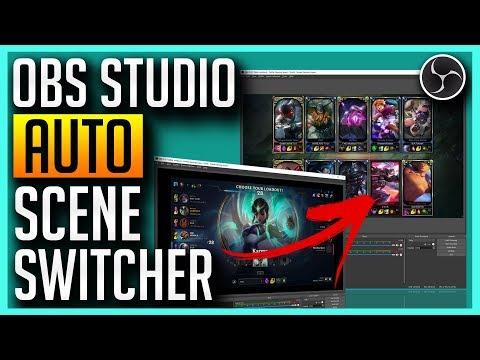 ✅ OBS Studio - Auto Scene Switcher