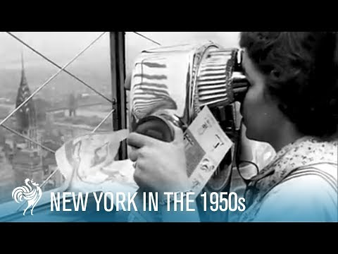New York City in the Fifties (1950-1959)   British Pathé
