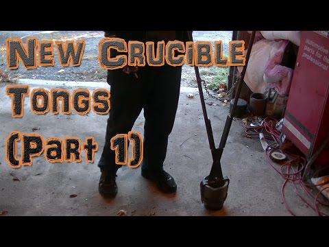 Making New Crucible Lifting Tongs (Part 1)