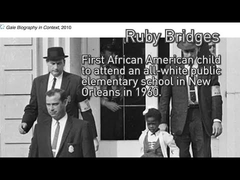Hidden Figures - Ruby Bridges