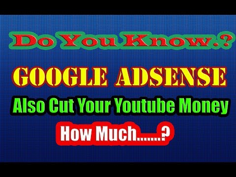 Do I have to pay to use AdSense ? | Google Adsense | Youtube | Money | Cut Fees